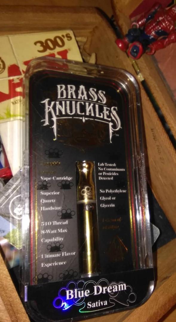 buy Blue dream brass knuckles online