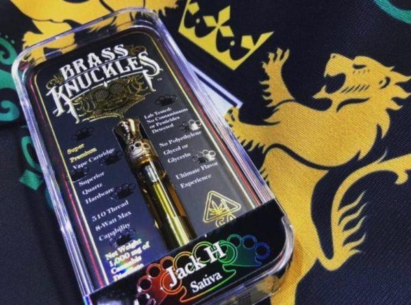 buy Jack herer sativa brass knuckles online