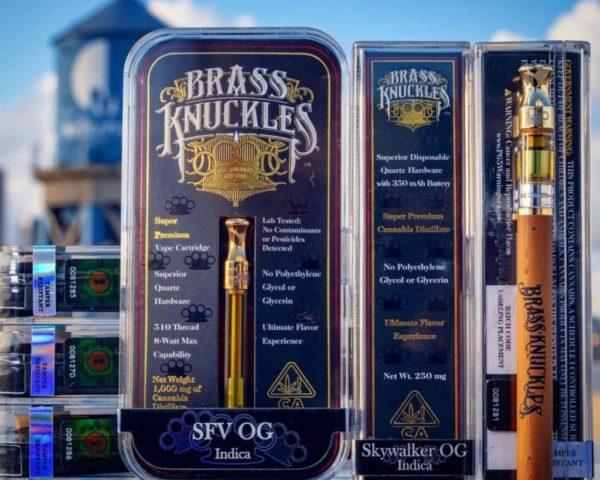 buy Sfv og indica brass knuckles online