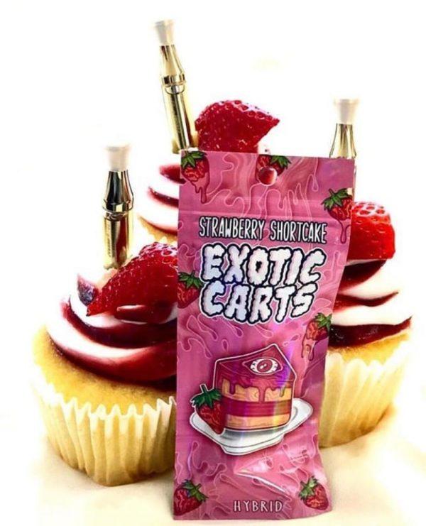 buy strawberry shortcake exotic carts online