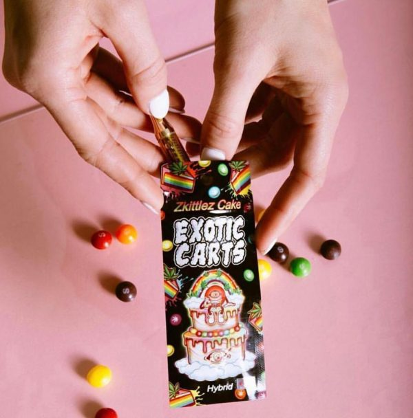 buy zkittlez cake exotic carts online